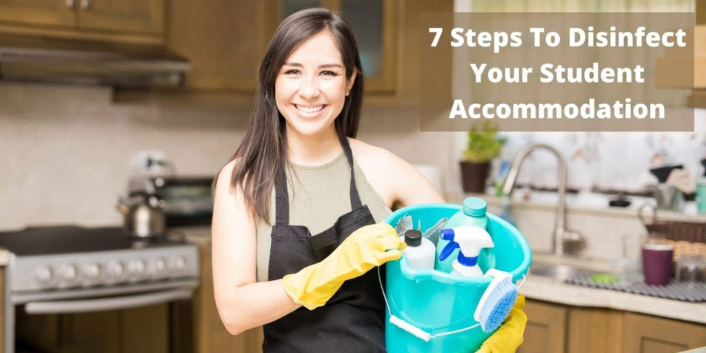 7 Steps To Disinfect Your Student Accommodation
